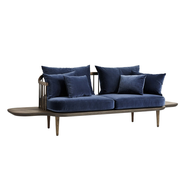 Andtradition fly sofa with side tables sc3 by space - Fly table console ...