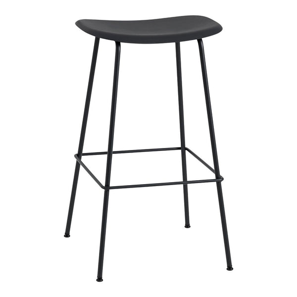 "Fiber Bar Stool (29.5"" H) - Tube Base"
