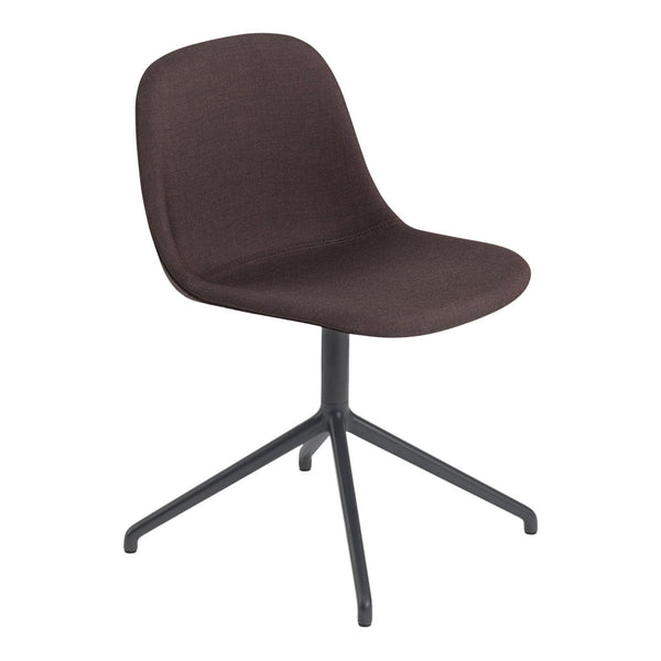 Fiber Side Chair - Swivel Base w/ Return - Fully Upholstered