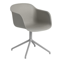 Fiber Armchair - Swivel Base - W. Return