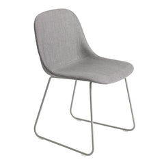 Fiber Side Chair - Sled Base, Fully Upholstered