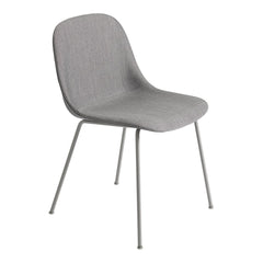 Fiber Side Chair - Tube Base, Fully Upholstered