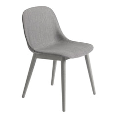 Fiber Side Chair - Wood Base, Fully Upholstered