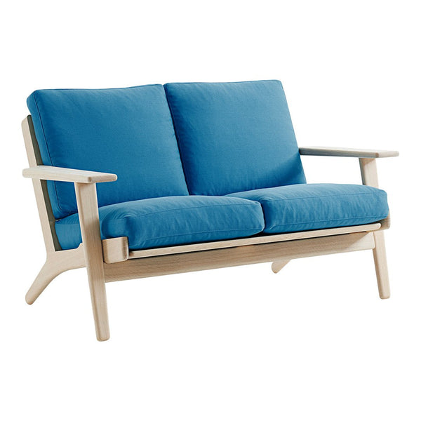 GE 290 2-Seater Sofa - Down Top Cushions