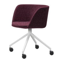 Verve Chair - Swivel Casters - Fully Upholstered