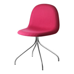 Gubi 3D Meeting Chair - Swivel Base - Fully Upholstered