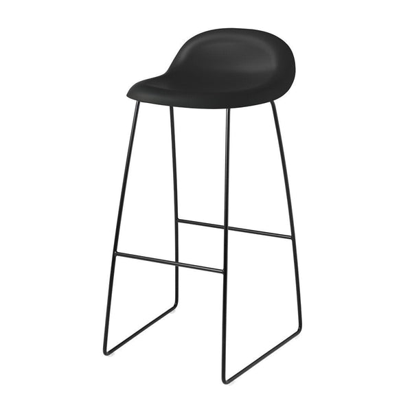 Gubi 3D Counter Stool - Sledge Base