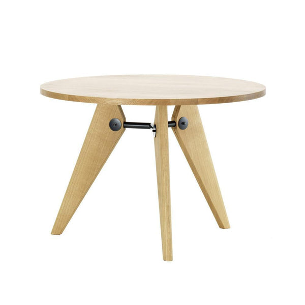 Vitra Gueridon Table - Natural Oak , 35.5 Dia