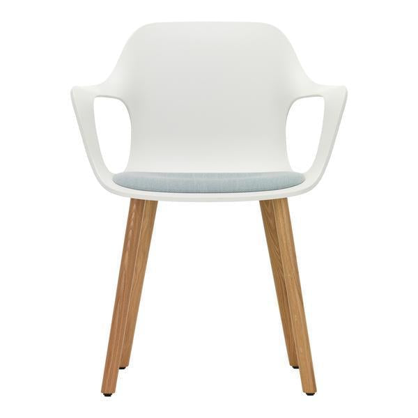 Hal Armchair Wood Upholstered