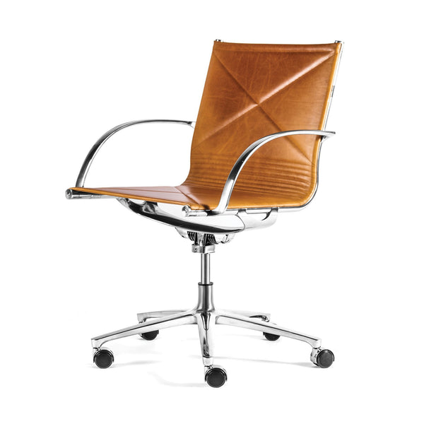 Joint 1206 Armchair - Cognac Leather - Outlet
