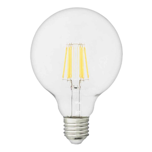 "LED Bulb Globe 8W Ø37.4"" (95cm) Clear - E26 US"