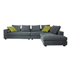 Landscape Sectional Sofa w/ Right Arm Chaise