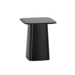 Vitra Leather Side Table - Nero, Small