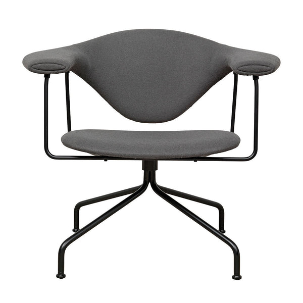 Masculo Lounge Chair - Swivel Base