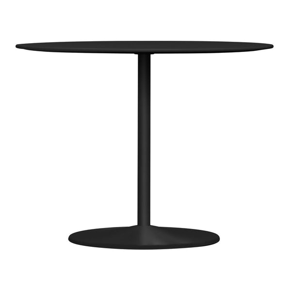 "Panton Table - 05 Black / 35.43"" Dia / 28.35"" H - Outlet"