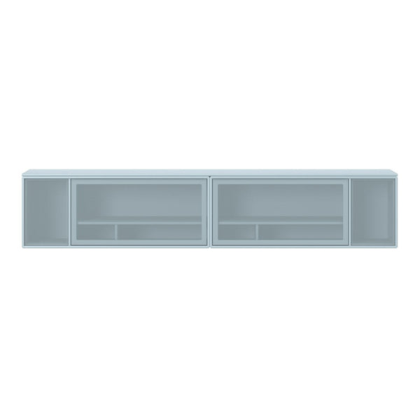 SL13-2 Classic TV Module - 2 Perforated Retractable Doors, 2 Perforated Sides