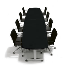 Moveo Stand Alone Full Boat Conference Table