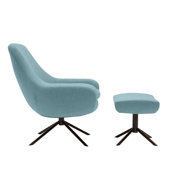 Lovely Noomi Swivel Lounge Chair