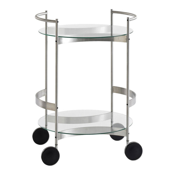 Orbis Mobile Round Serving Cart