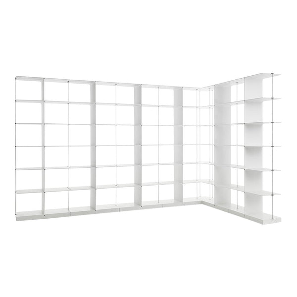 Poise L-Shaped Shelving 6 x 6