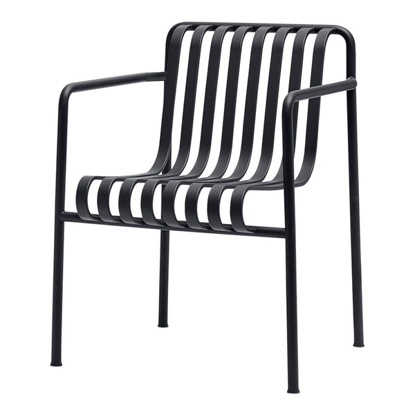 Palissade Dining Armchair - Anthracite - Outlet - LA Showroom Pickup Only