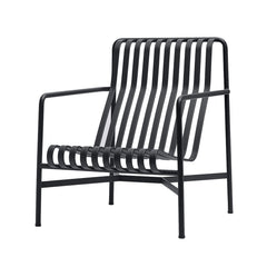 Palissade Lounge Chair - High, Anthracite - Outlet
