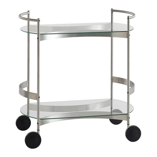 Orbis Mobile Rectangular Serving Cart