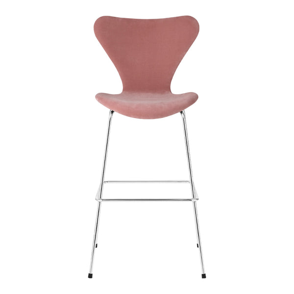 Series 7 Bar Stool - Velvet Upholstered