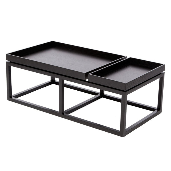 Tray Coffee Table - Black - Outlet