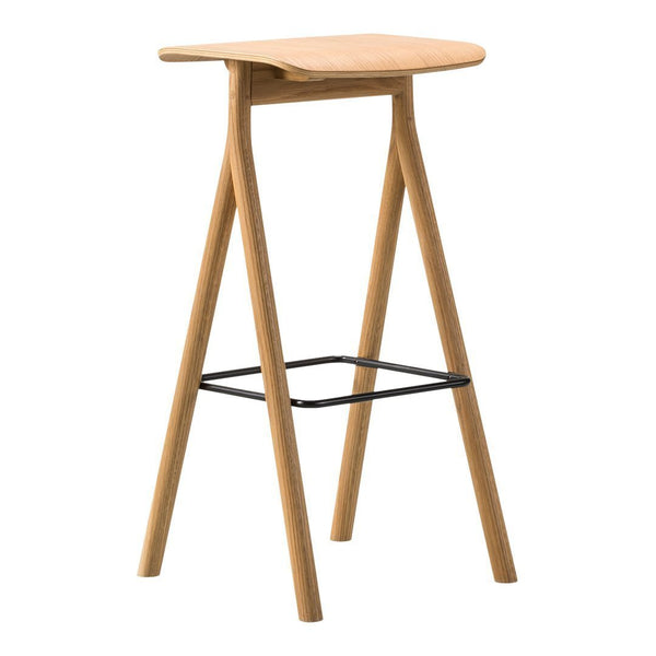 Yksi Barstool - Oak - Oiled / Counter (25.6in / 65cm) - Showroom