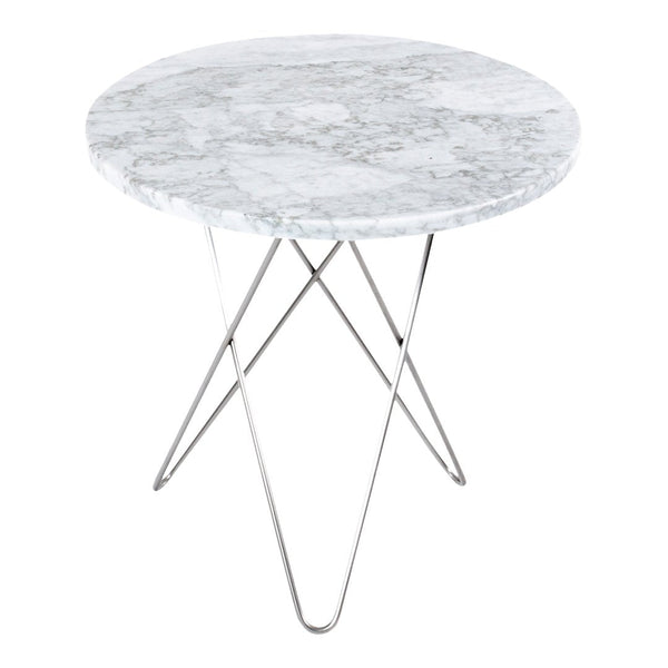 OX Denmarq Tall Mini O Table By Dennis Marquart Danish Design Store - Tall stainless steel table