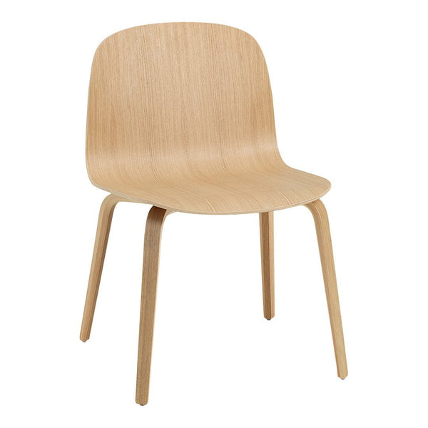 Visu Wide Chair - Wood Base