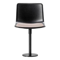 Pato Column Chair - Seat Upholstered