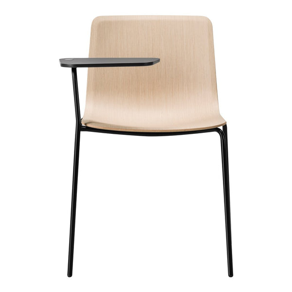 Pato Veneer Chair w/ Writing Tablet - 4 Legs