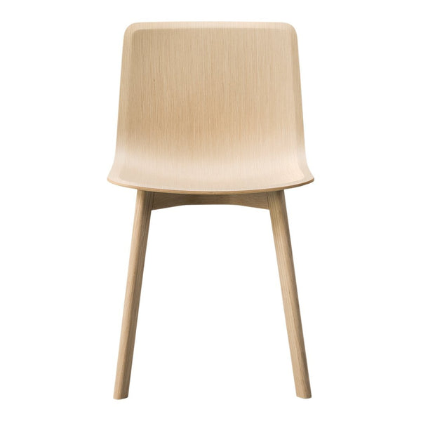 Pato Veneer Chair - Wood Base