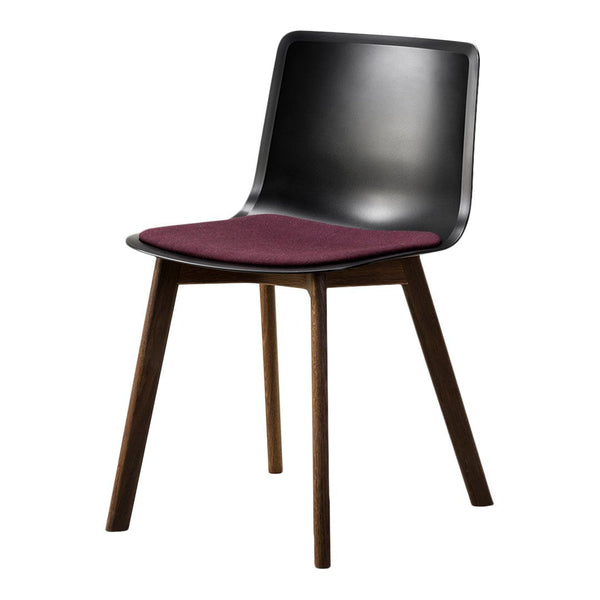Pato Chair - Wood Base, Seat Upholstered