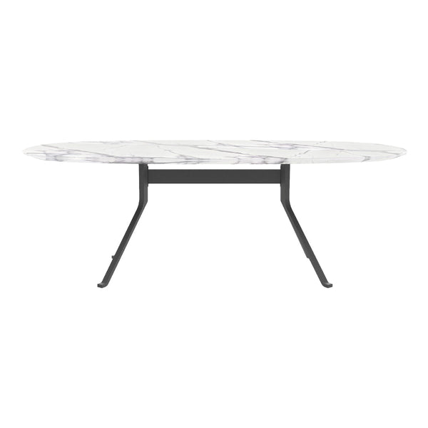Blink Oval Dining Table - Stone Top