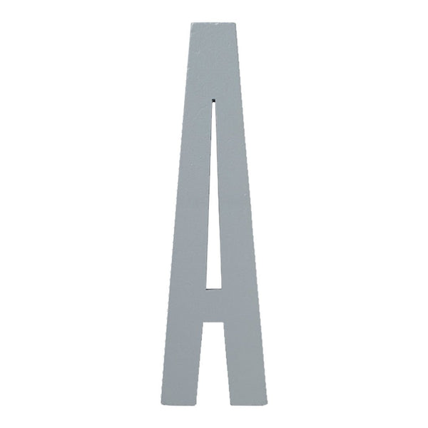 Wooden Letters Grey (A-Z)