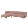 Abby 3 Seater Sofa w/ Chaise Longue