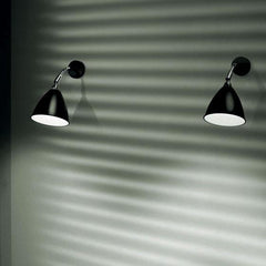 BL7 Wall Lamp Charcoal Black / Chrome / Corded - Outlet