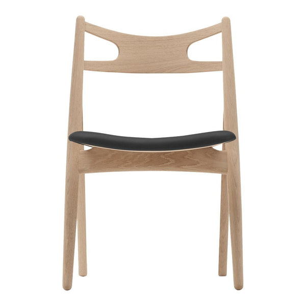 CH29P Sawbuck Chair - Wood