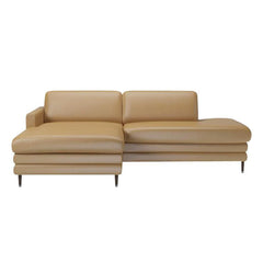 Cooper Chaise Longue with Open End and Low Cushions