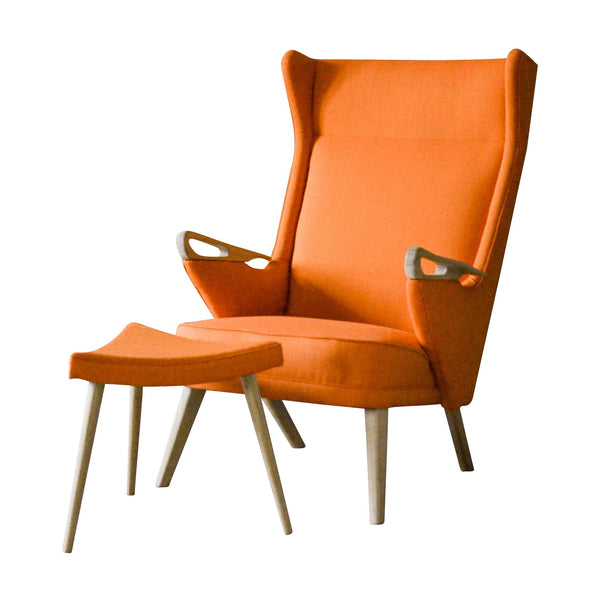 Danish Retro U4 Lounge Chair By Unknown Danish Design Store