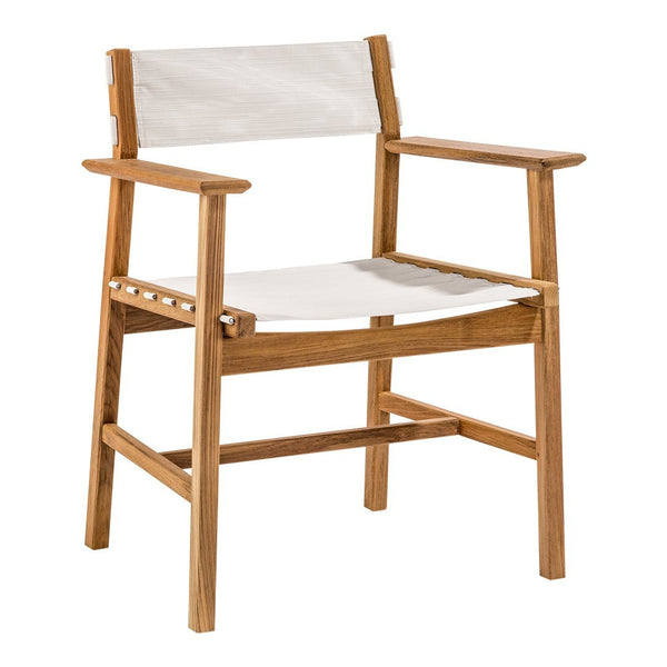 Djuro Armchair - Teak and Fabric