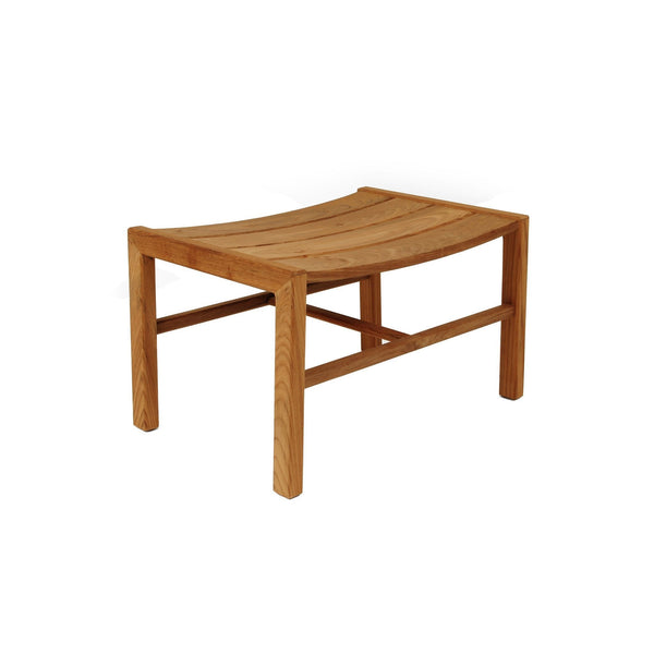 Djuro Lounge Stool - Teak - Outlet
