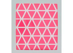 Mini Triangle Wall Stickers - Neon Pink - Outlet