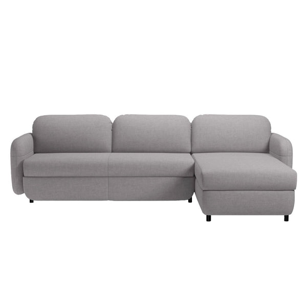 Sofa bed with chaise longue for Chaise jysk