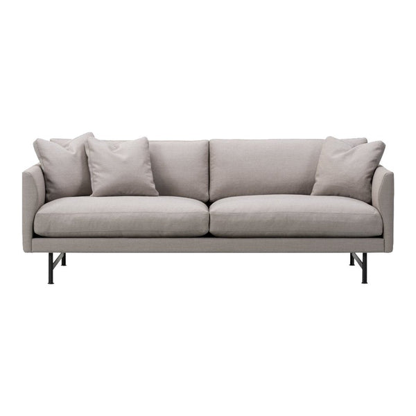 Calmo Sofa 95 - 2-Seater - Metal Base