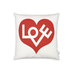 Vitra Girard Graphic Print Pillows - Love - Red