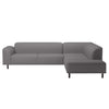 Hannah 6 Seater Corner Sofa with Open End